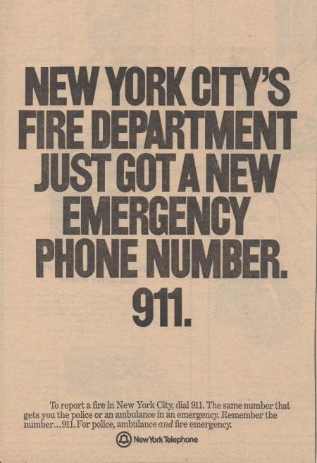 NYC 9-1-1, history of 9-1-1