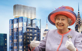 Queen Elizabeth in NYC, 50 UN Plaza, royal family real estate
