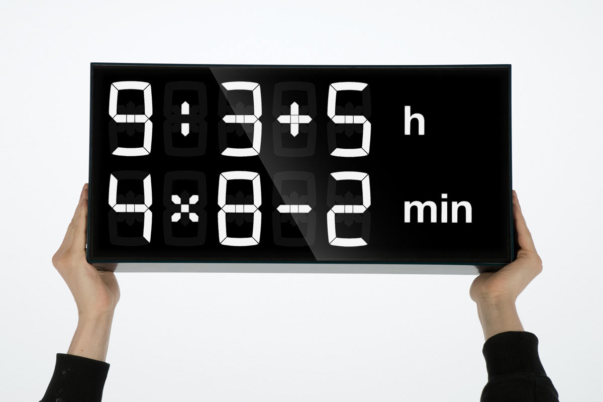 A Clock to Improve Your Math Skills