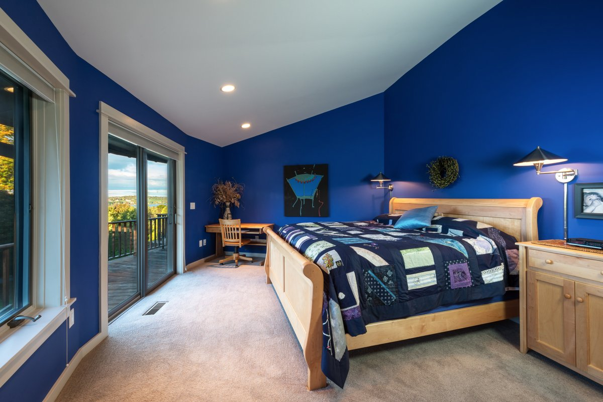 Blueberry HIll House Bedroom