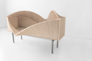 Wave Cabinet, Sebastian Errazuriz, undulating furniture