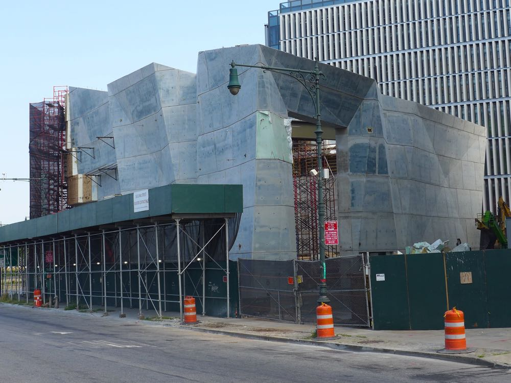 Spring Street Salt Shed, Dattner Architects, WXY, Tribeca, Hudson Square, Soho