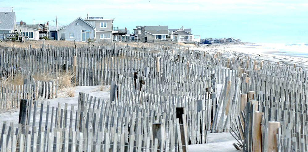 Fire Island, sand dunes, beach houses, Hamptons