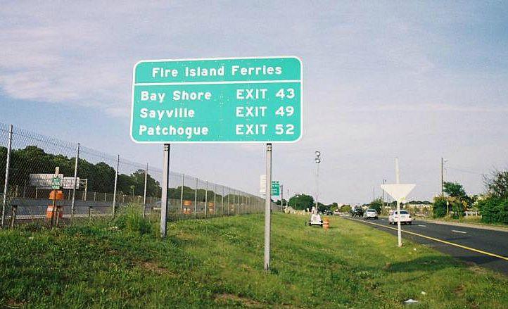 Fire Island ferries, Hamptons