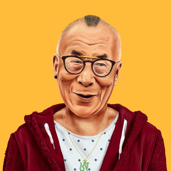 amit shimoni, dalai lama hipster