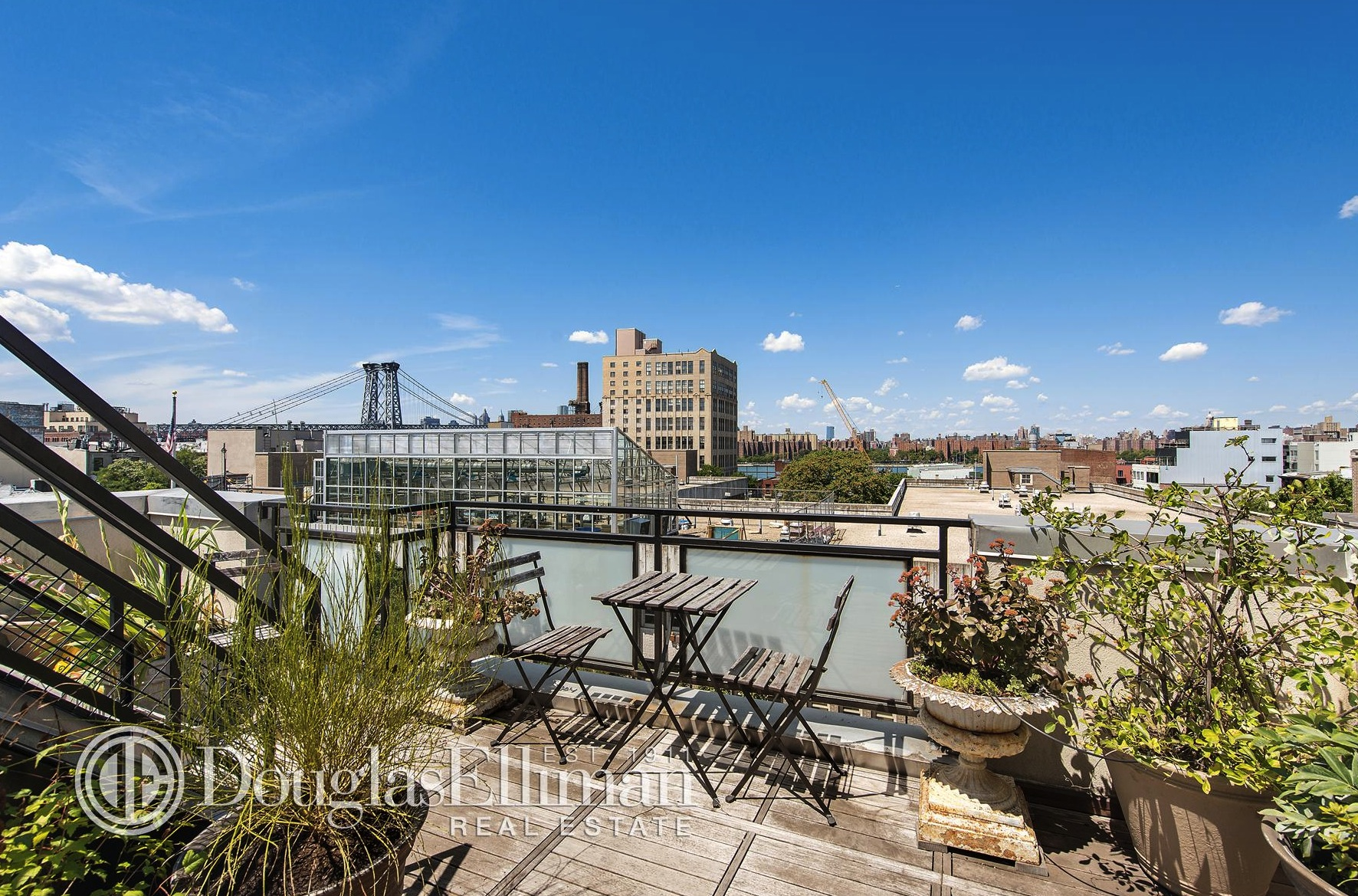 257 Berry Street, roof terrace, rental, williamsburg
