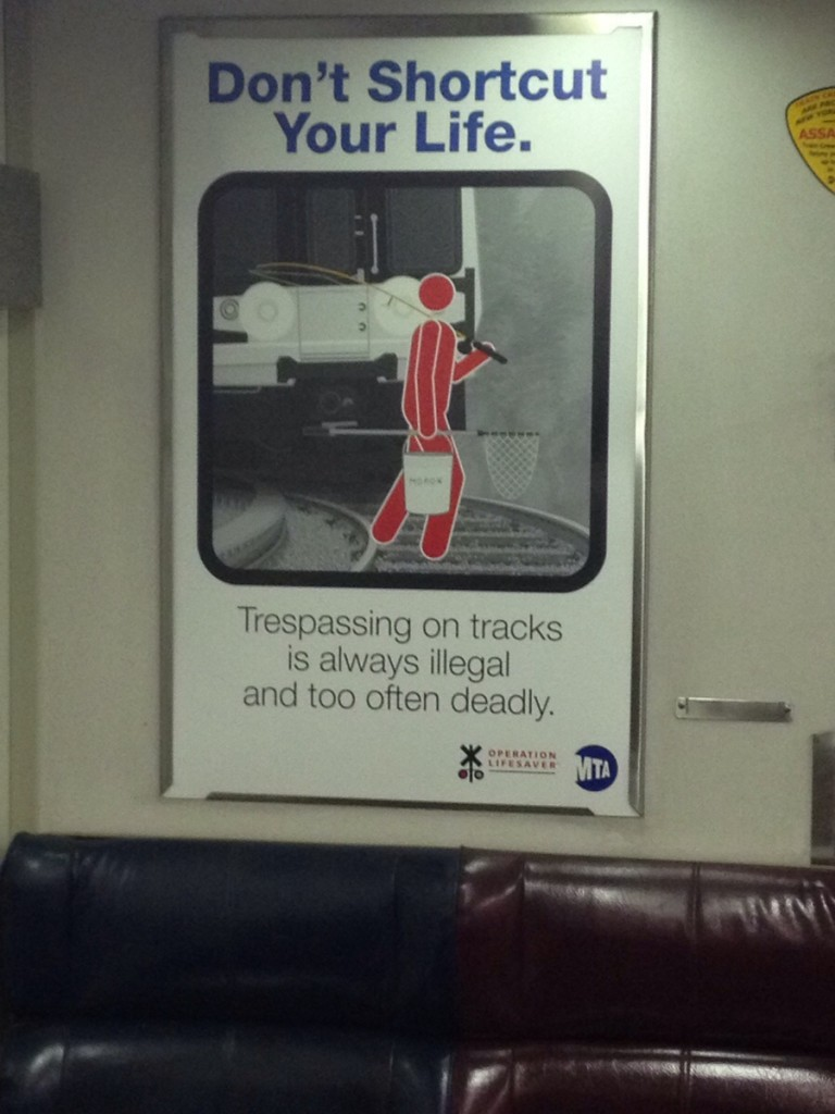 MTA operation lifesaver campaign