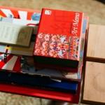 Carlos Alimurung, books and coasters