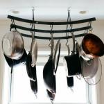 Carlos Alimurung, kitchen pot rack