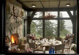 Camp Big Rock, dining room