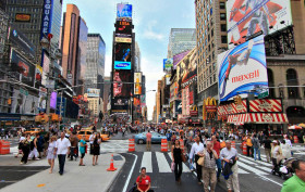 times square, nyc, noise pollution