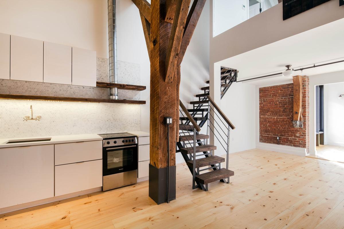 167 North 6th Street, Spire Lofts, Cool Listing, Williamsburg, Brooklyn Rental, Church Conversion, Interiors, Loft Rentals