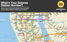 nyc subway station map