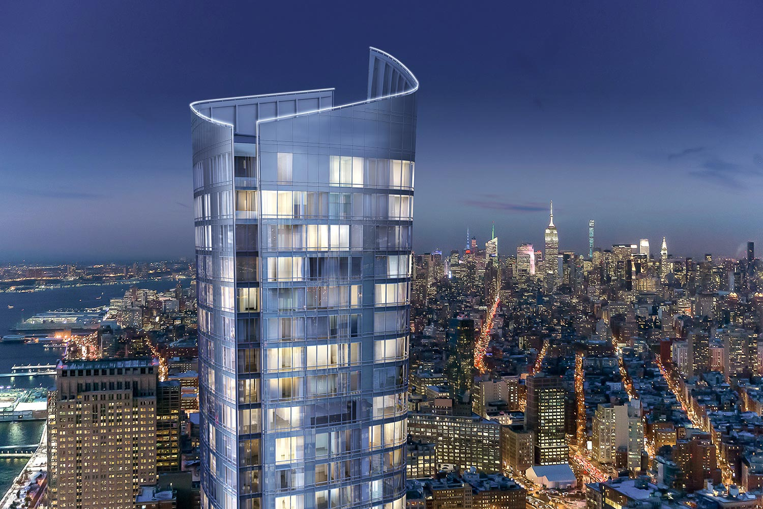111 Murray Street, Kohn Pedersen Fox, KPF, Witkoff, Fisher Brothers, Tribeca condos