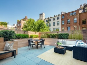 165 Columbia Heights, roofdeck, carriage house