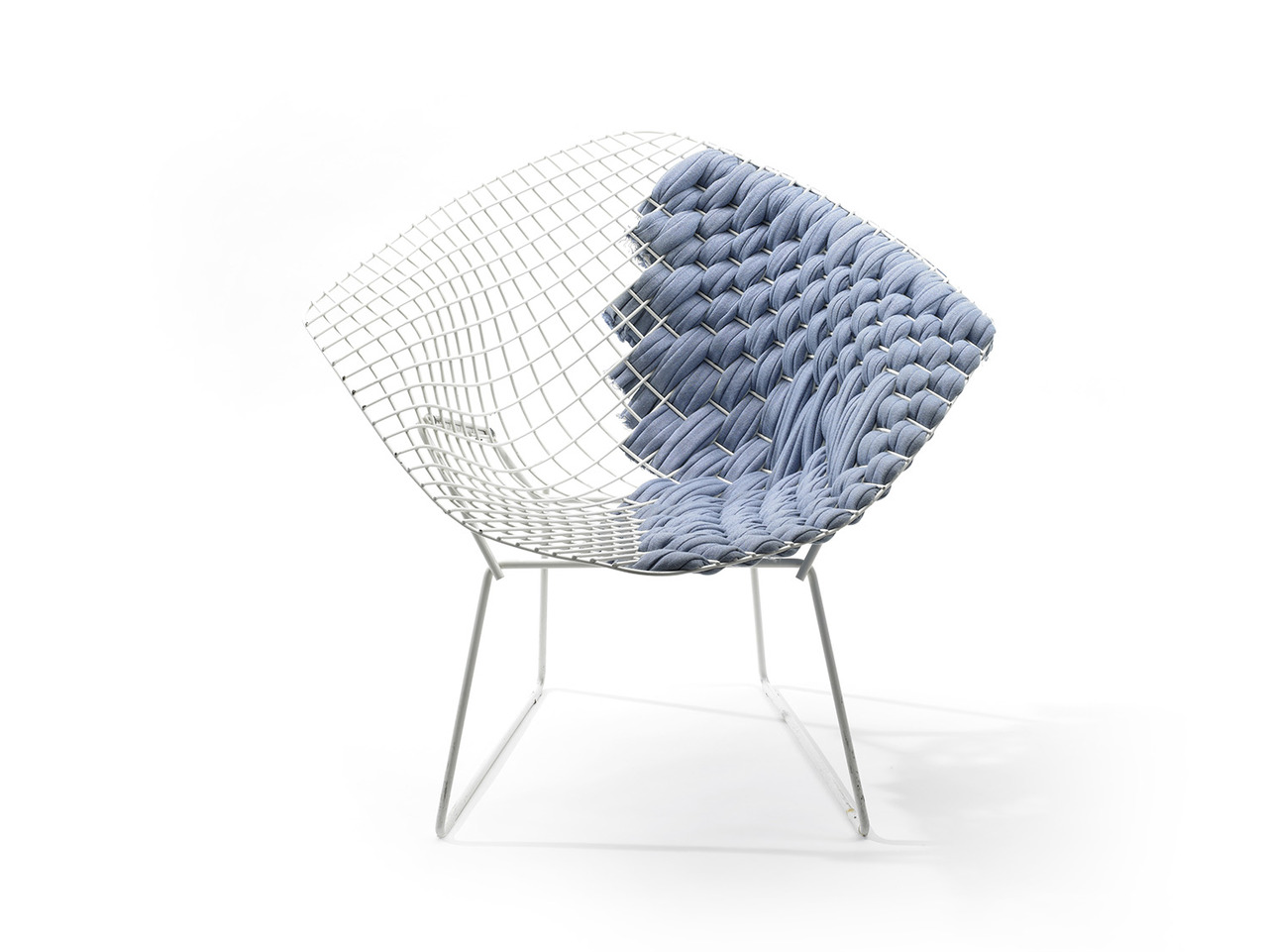milia en cushion knoll with shop bertoia chair