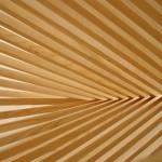 Robert Van Embricqs, Bamboo chair, sculptural chair, Rising Chair, Flatpack design, wooden seat, Dutch design