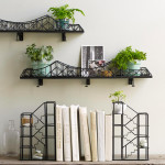 suspension bridge shelf, shelf ideas, cool shelves, bridge shelf design