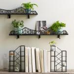 suspension bridge shelf, shelf ideas, cool shelves, bridge shelf design
