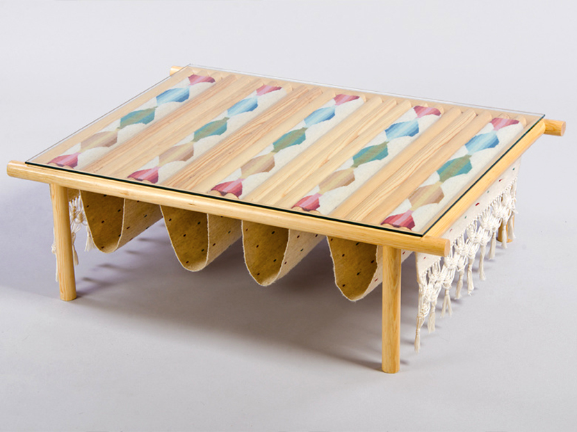 Daniel Valero Dresses Minimal Furniture With Handmade Mexican