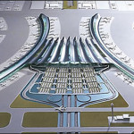 Shanghai Pudong International Airport designed by Rogers Stirk Harbour + Partners, Shanghai Pudong International Airport, Rogers Stirk Harbour + Partners