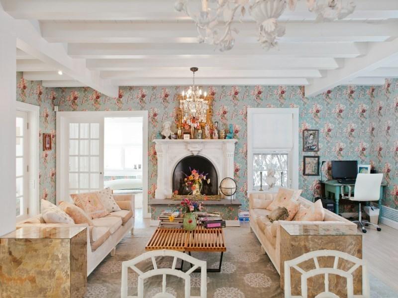 Buy Fashion Designer Betsey Johnsonu0027s Flowery East Hampton Home For $2M