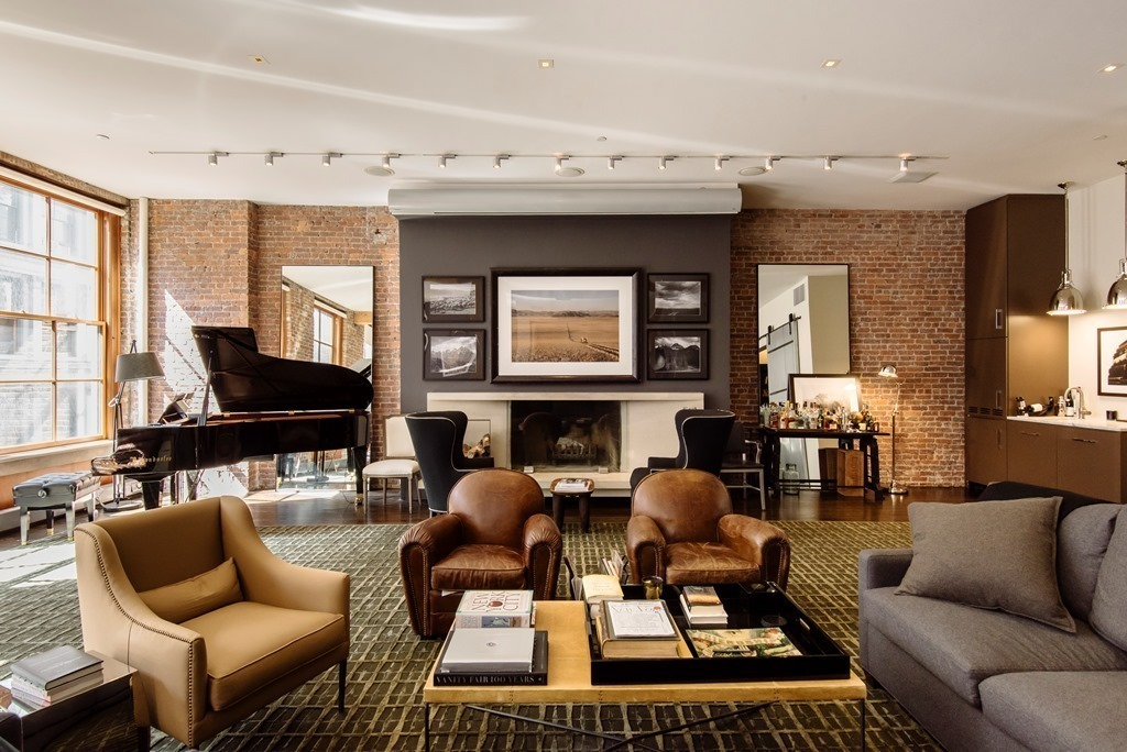 Facebook Co Founder Lists His Elegant Bespoke Soho Loft For $8.75M