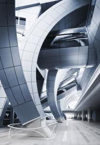 Paul Andreu Dubai Airport, Paul Andreu, Dubai Airport