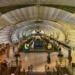 Helmut Jahn Suvarnabhumi Airport in Bangkok-