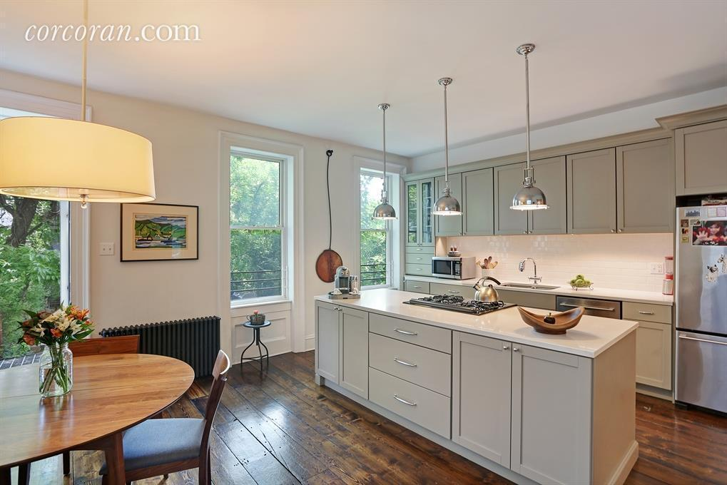 152 Luquer Street, carroll gardens, kitchen, townhouse rental, Brooklyn