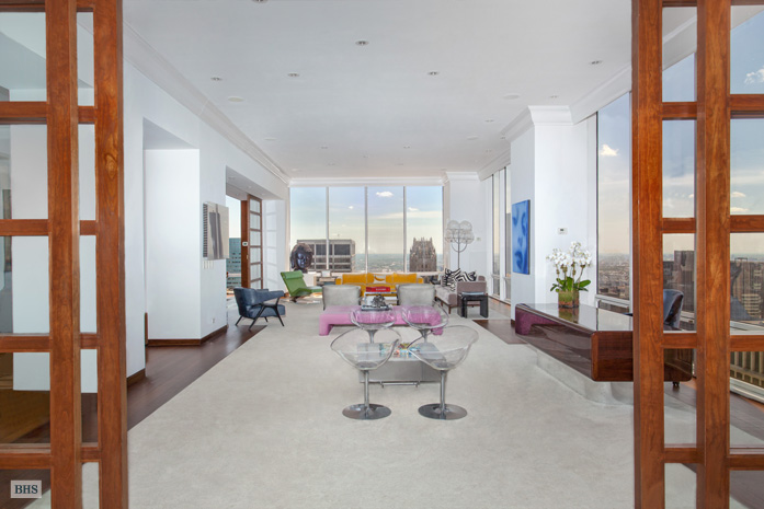 641 Fifth Avenue, Olympic Tower, Gucci penthouse, Alessandra and Allegra Gucci, midtown penthouse