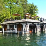 41 Cramer Road, Lake George, upstate NY lakeside properties, Tudor style houses