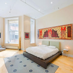 56 Mercer, master bedroom, soho loft,