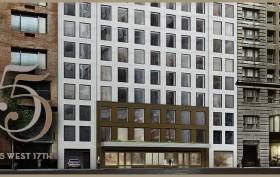 55 West 17th Street, Chelsea, Ladies' Mile, Toll Brothers, Morris Adjmi, Toll Brothers