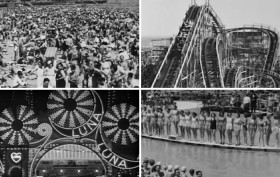 1940s Coney Island, Miss Coney Island, Luna Park, Cyclone