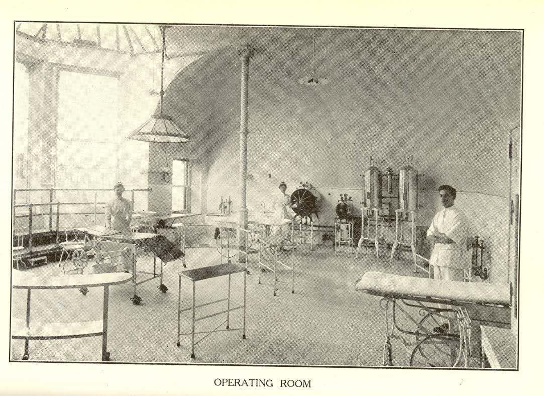 455 Central Park West, operating room, historic, New York Cancer Hospital