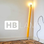 HB Lamp, pencil lamp, george and michael design,