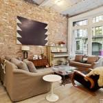 11 West 20th Street, den, living room, flatiron, lofts