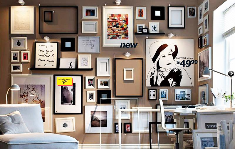 ikea catalog, best places for affordable art