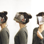 Imme van der Haak, DIY art, newspaper blinkers