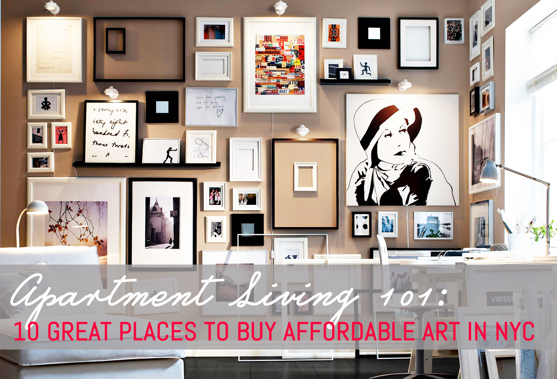 Affordable Wall Art Endearing 10 Great Places To Buy Affordable Art In New York City  6Sqft 2018
