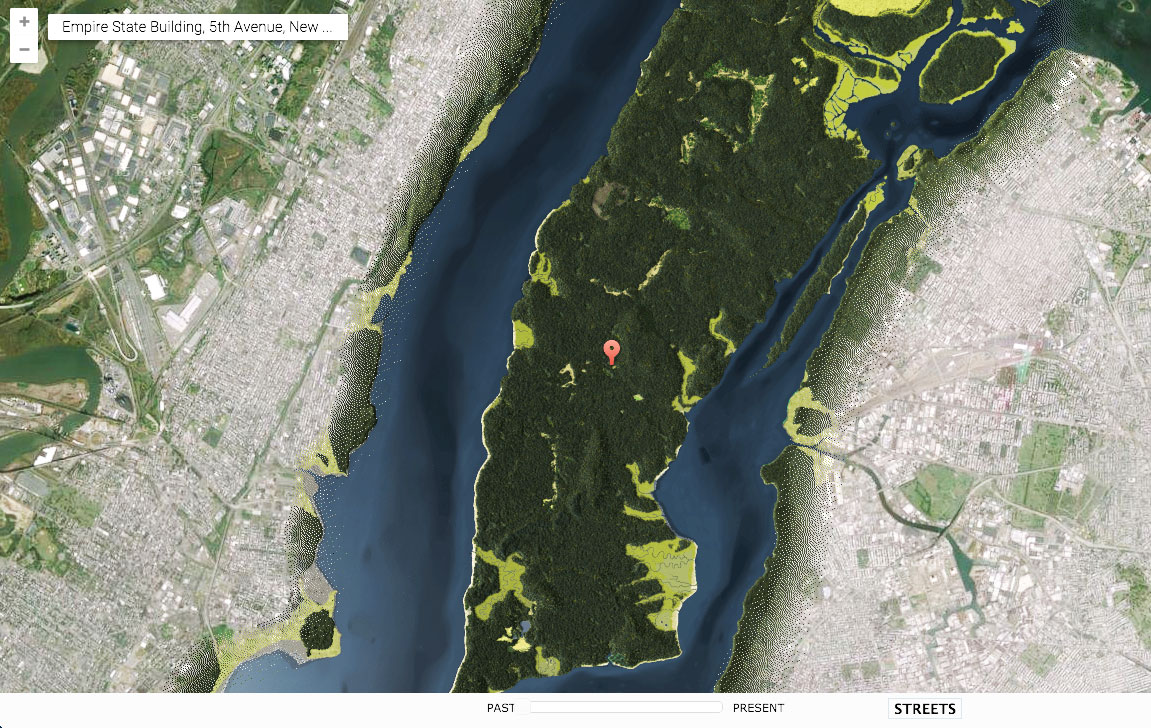Explore Manhattan When It Was Just Forests And Creeks With The - Nyc pre k map