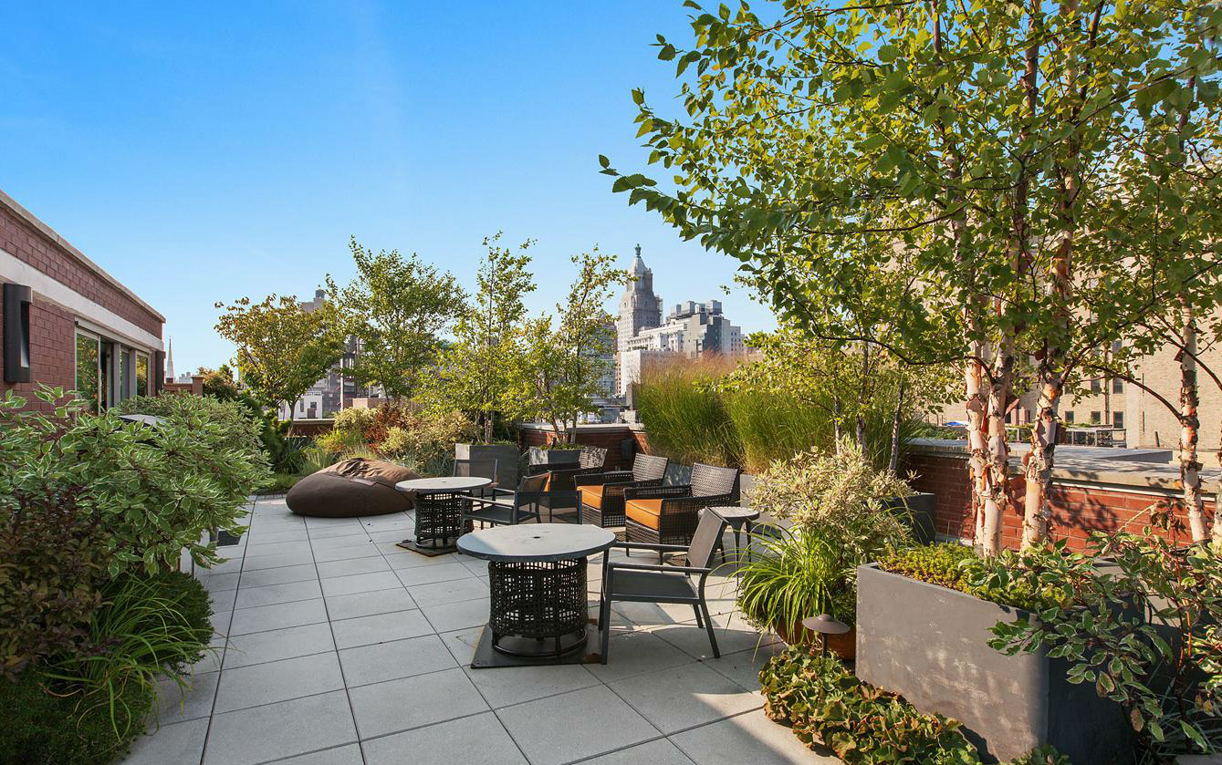 The Village Green, 311 East 11th Street, aziz ansari new york home, aziz ansari girlfriend, 311 East 11th Street penthouse, 311 East 11th Street ph2a311 East 11th Street penthouse