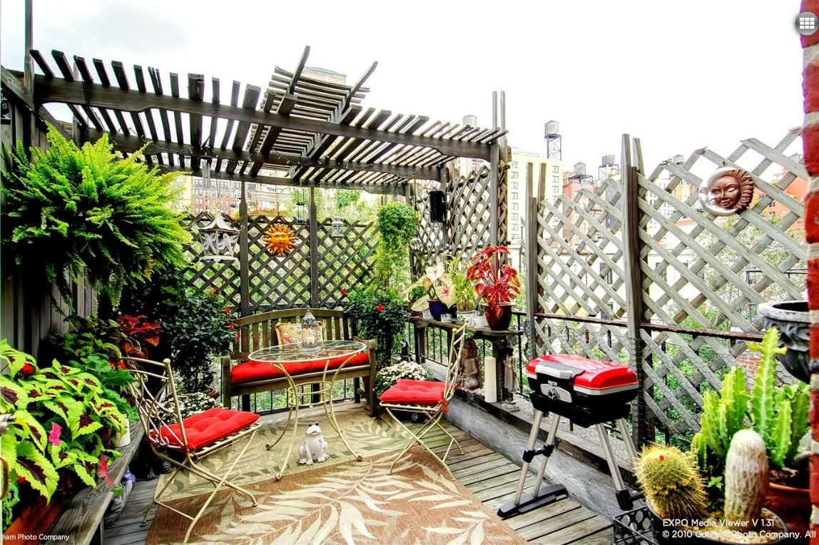 118  west 81st street, garden, backyard, private