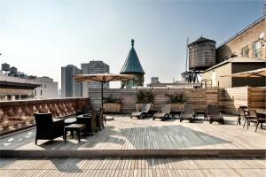 644 Broadway, roof deck