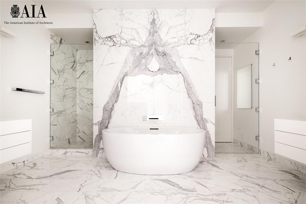 master bathroom, Bleecker Tower