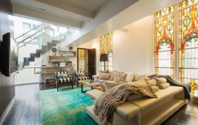 135 West 4th Street, Jude Law, church conversions, NYC celebrity real estate