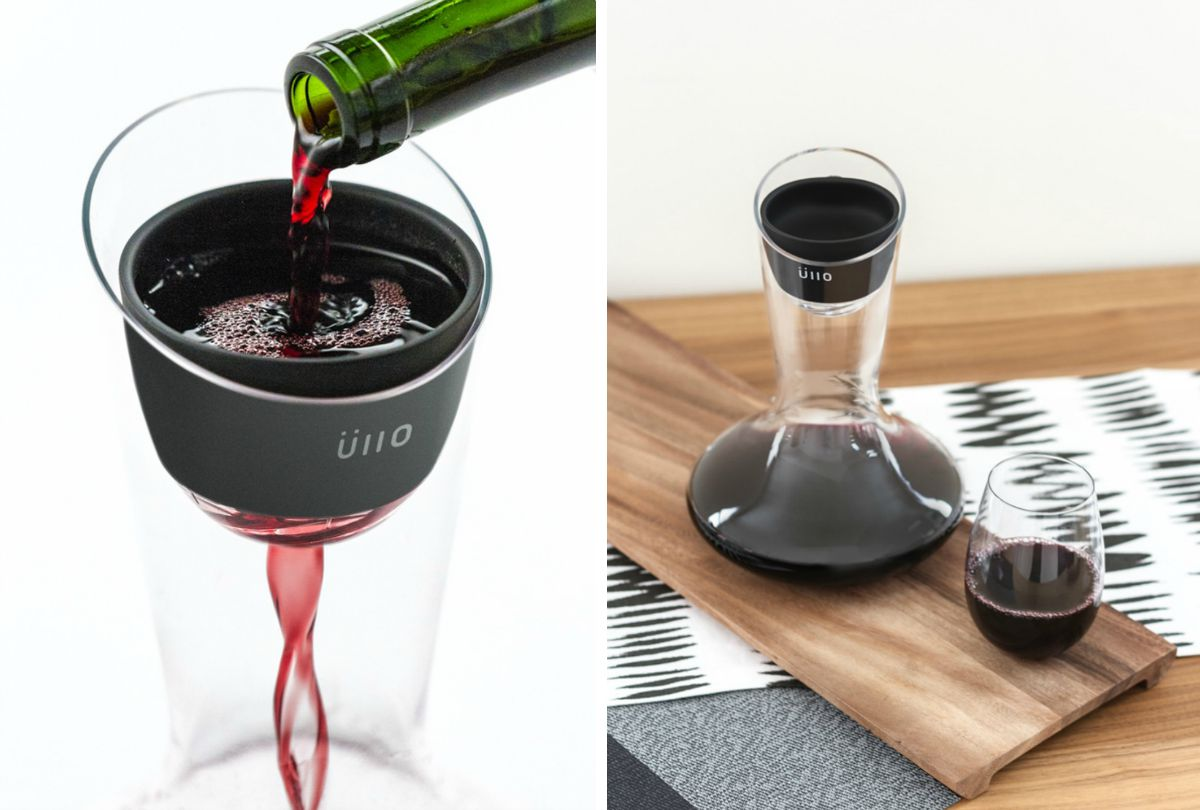 Üllo, wine purifier, James Kornacki, MINIMAL
