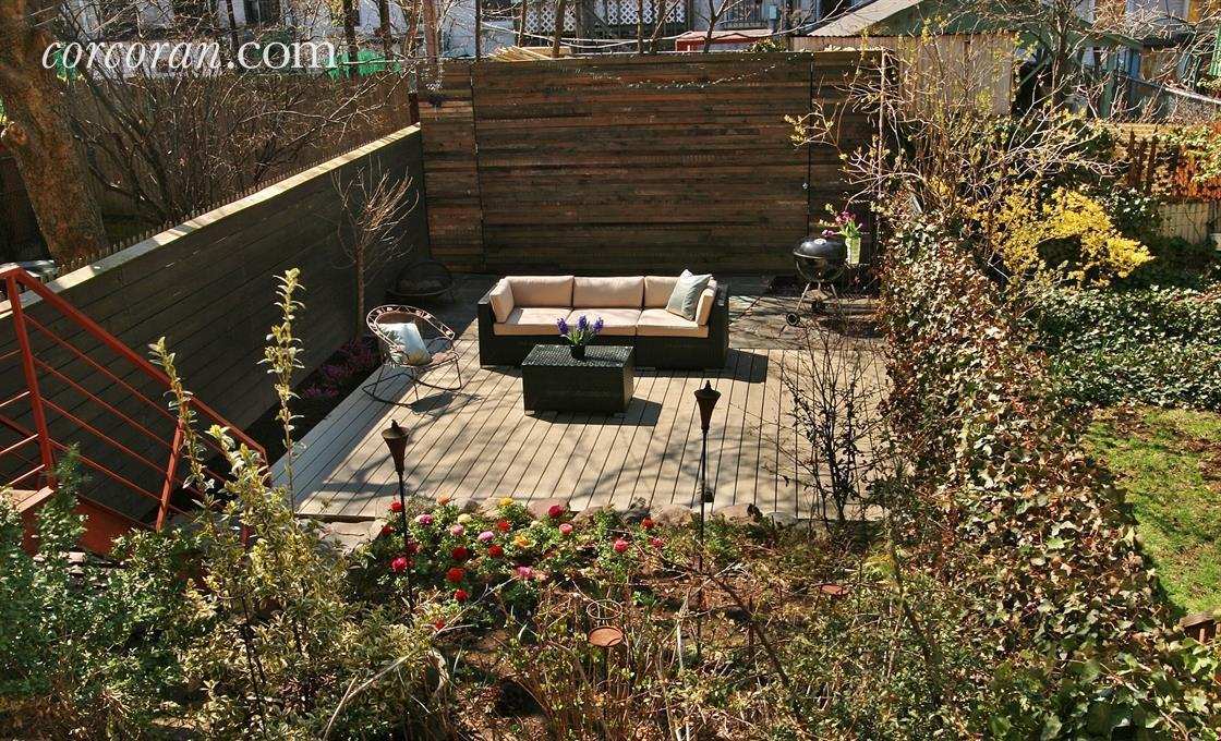 362A 14th Street, terrace, backyard, park slope