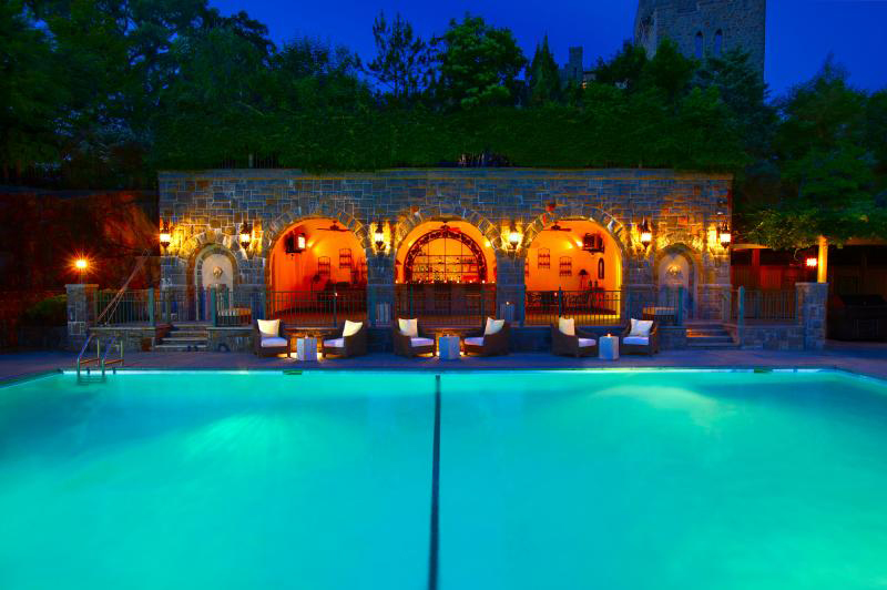 Grandiose Castle Hotel Spa In Tarrytown Helps You Relax And Restore Medieval Style 6sqft